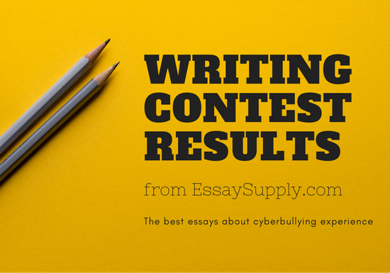 Content writing contest results