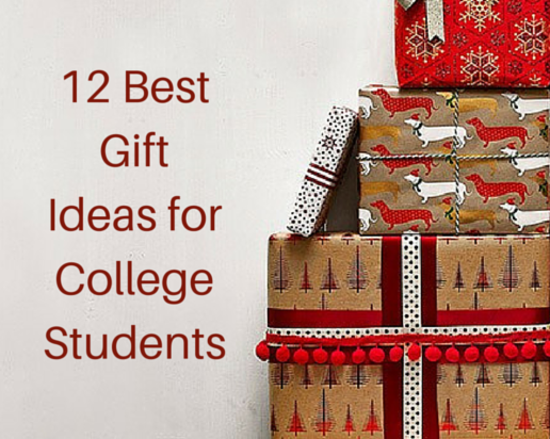 Content 12 best gift ideas for college students
