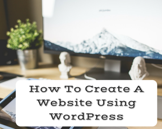 Content how to create a website using wordpress